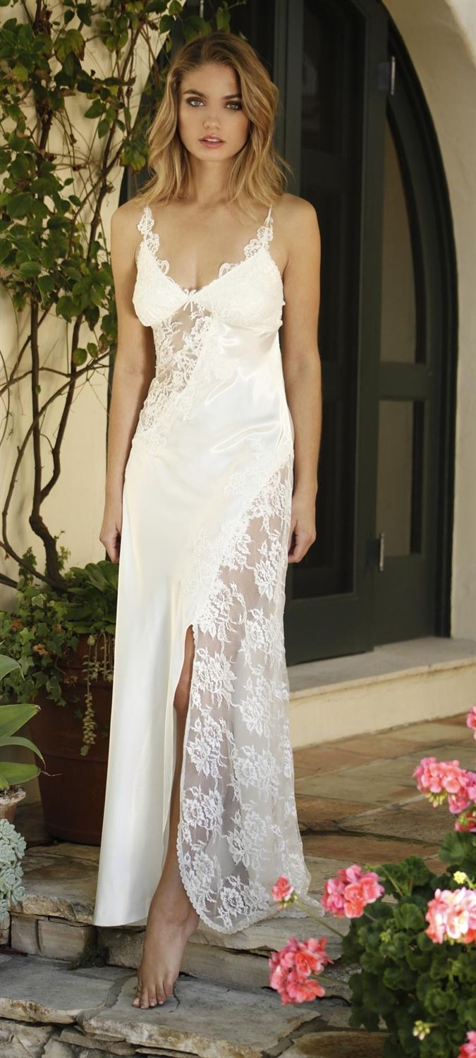 Enchanting Wedding Night Gowns Image Collection - Wedding Dress ...