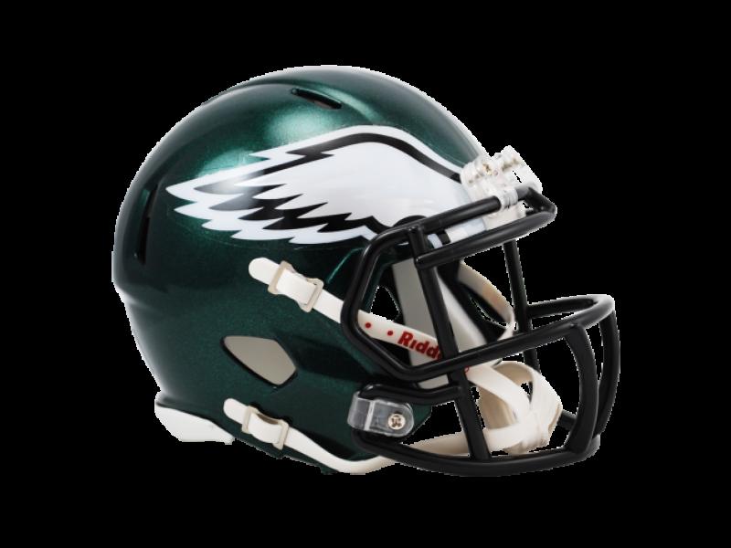 Philadelphia Eagles Speed Mini Helmet Mini Football Helmet Philadelphia Eagles Helmet Football Helmets