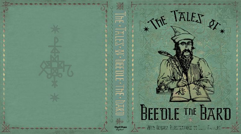The Tales of Beedle the Bard   printable book cover    Harry potter     The Tales of Beedle the Bard   printable book cover