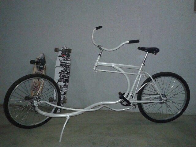Chamativa E Inovadora Linda Custon Bike