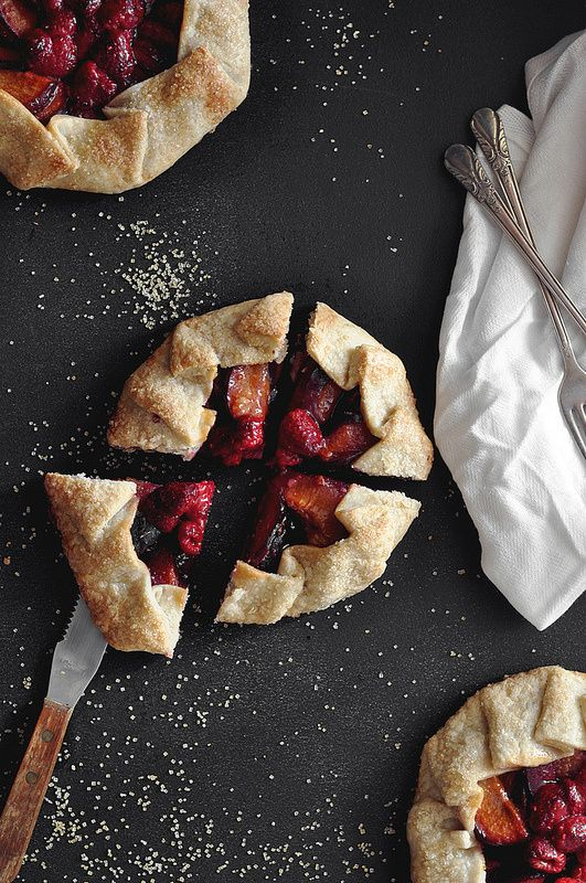 Lemon ,  Plum Galettes - The Candid Appetite she has some really good tips and techniques  for galette making