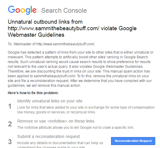 Google Manual Action Penalties Were Due To Links For Freebies