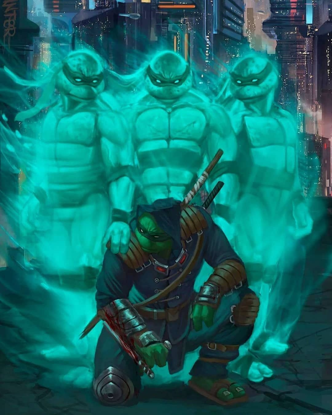 "31.6k Likes, 115 Comments - Super Heroes And Villains (@superheros_and_villainx) on Instagram: ""TMNT: T… | Ninja turtles art, Tmnt, Teenage mutant ninja turtles art"
