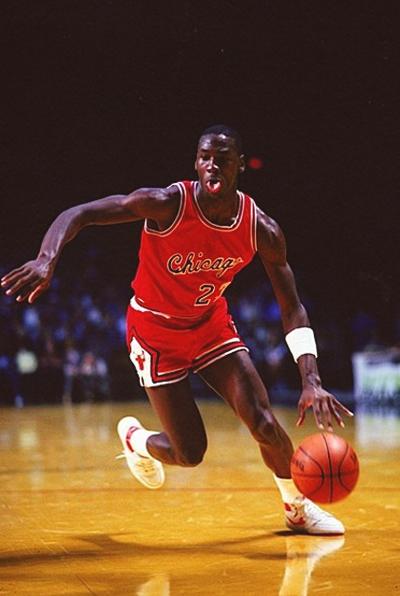 basketball air jordan 1984