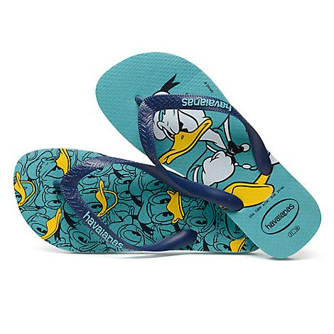 0797855a6c5f Donald Duck Flip Flops for Men by Havaianas