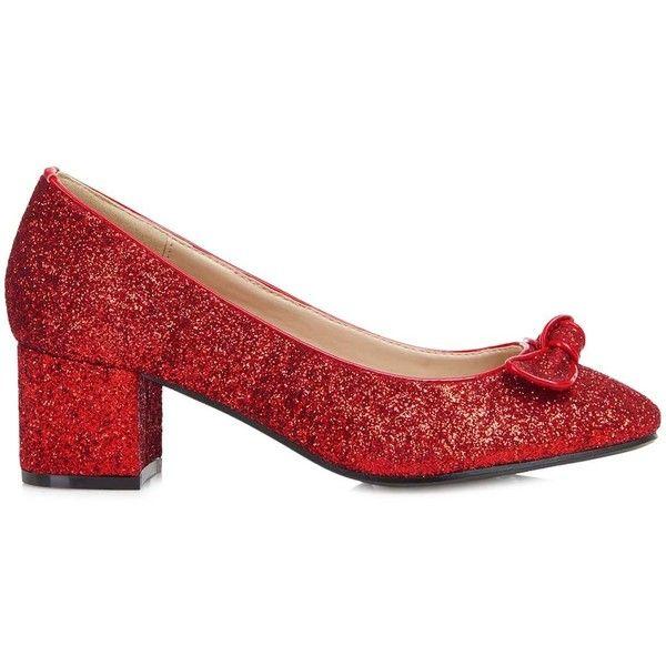5b1cf30047aa Lulu Hun Dorothy Block Heel ( 7.77) ❤ liked on Polyvore featuring shoes