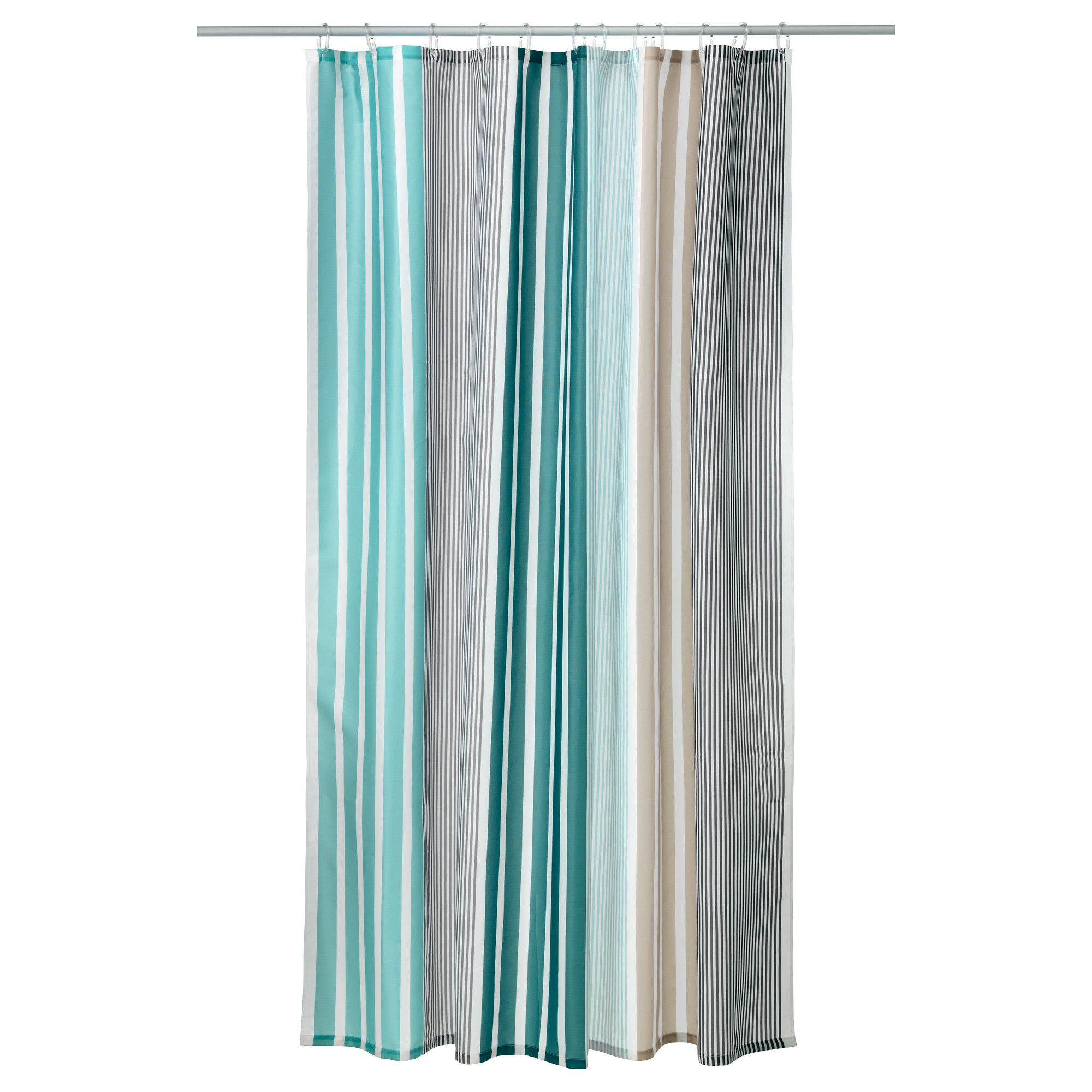 IKEA - BOLMÅN, Shower curtain, $14.99 | Lake House | Pinterest | House