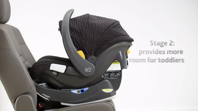 BabiesRus - Chicco Fit2 2-Year Rear-Facing Infant & Toddler Car Seat ...