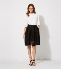 321c8b4f0a maje JAM PUFFBALL SKIRT IN TECHNICAL KNIT at Maje US | Style ...