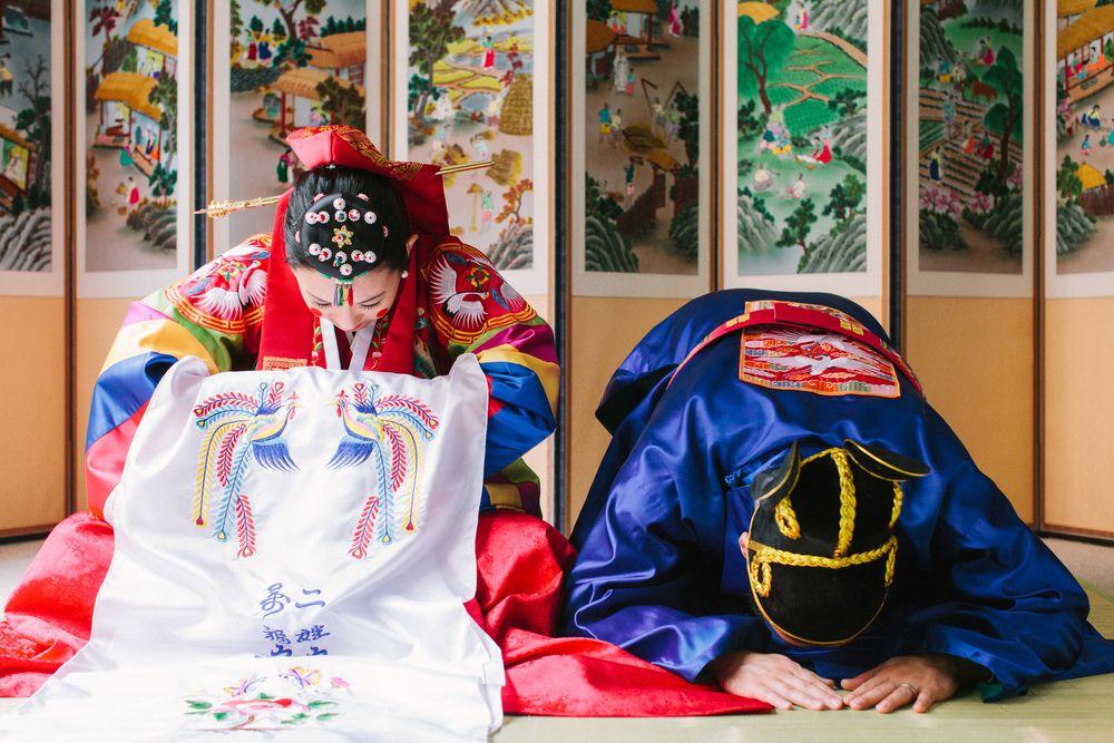 Paebaek | Korean wedding, Korean dress, Korean traditional