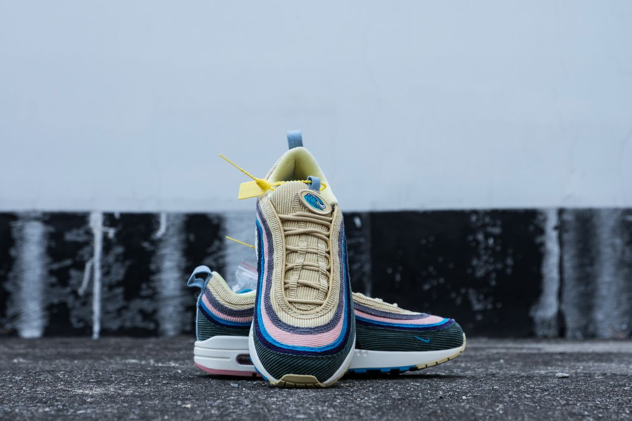 47f5ad70be2 Nike Air Max 1 97 Sean Wotherspoon AJ4219-400 Running Shoes14 | Nike ...
