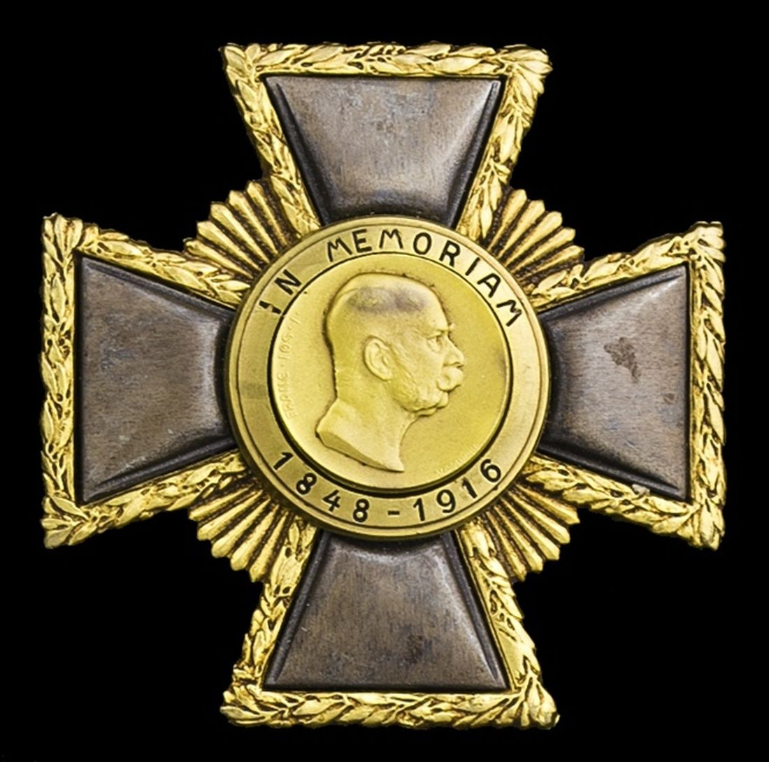 Austria Empire Franz Joseph Weiland Cross First Class Star