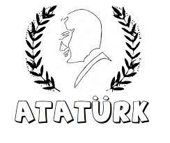 Ataturk Silueti Boyama Ile Ilgili Gorsel Sonucu Gorsel Sanatlar Sanat Etkinlikleri Sanat