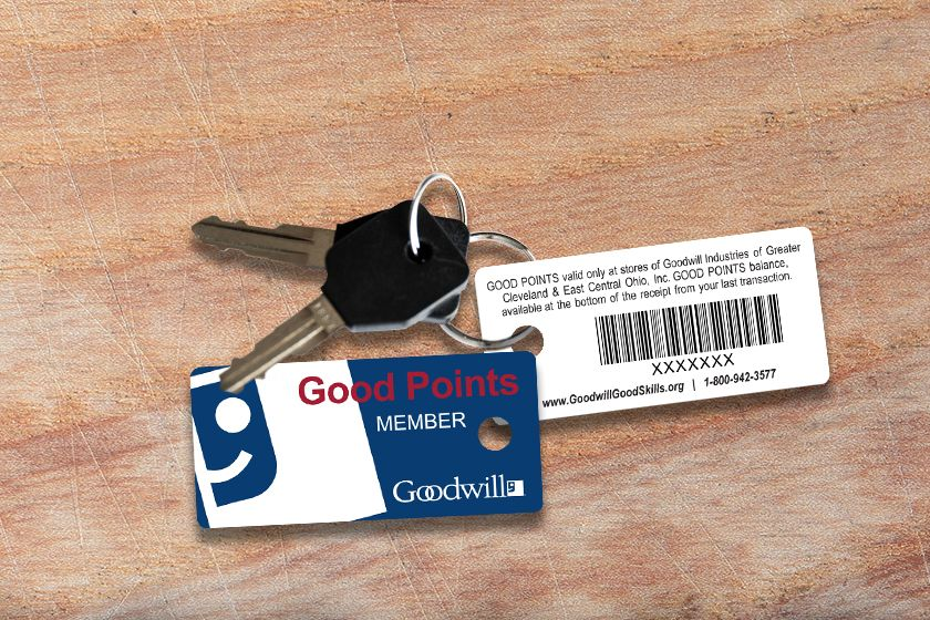 Membership Key Tag For Goodwill Industries Key Tags Key Tags