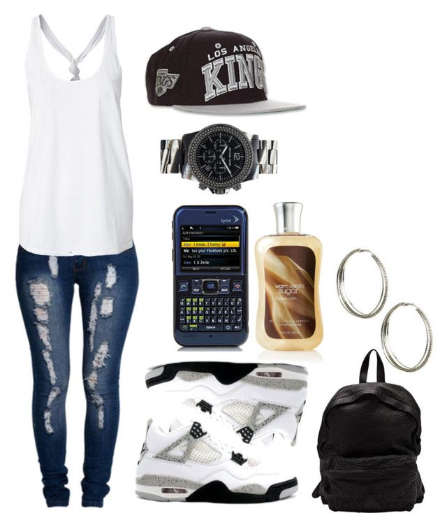 """""""If I Met Jawan Harris..."""" by swaggerkay ❤ liked on Polyvore featuring Boohoo, Zephyr, Officine Creative, Wet Seal, SCP and Michael Kors"""