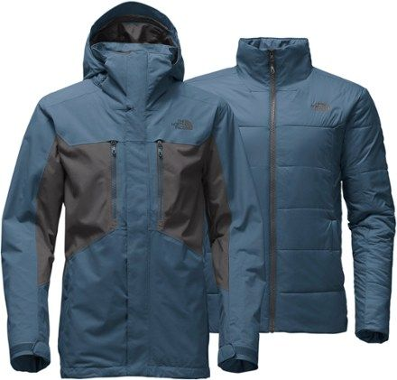 be3303ccde The North Face Men s Clement Triclimate 3-in-1 Jacket