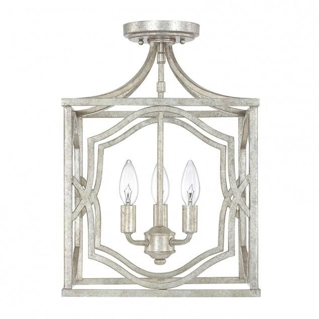 Blakely gold semi flush by capital lighting lighting connection