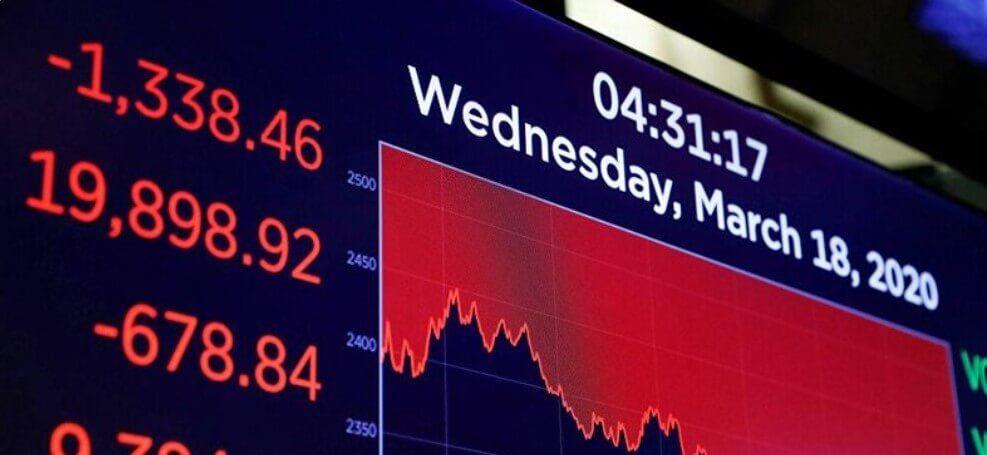 هزة قوية في الأسواق العالمية هبوط حاد للأسهم والنفط والذهب Time News Broadway Shows Broadway Show Signs
