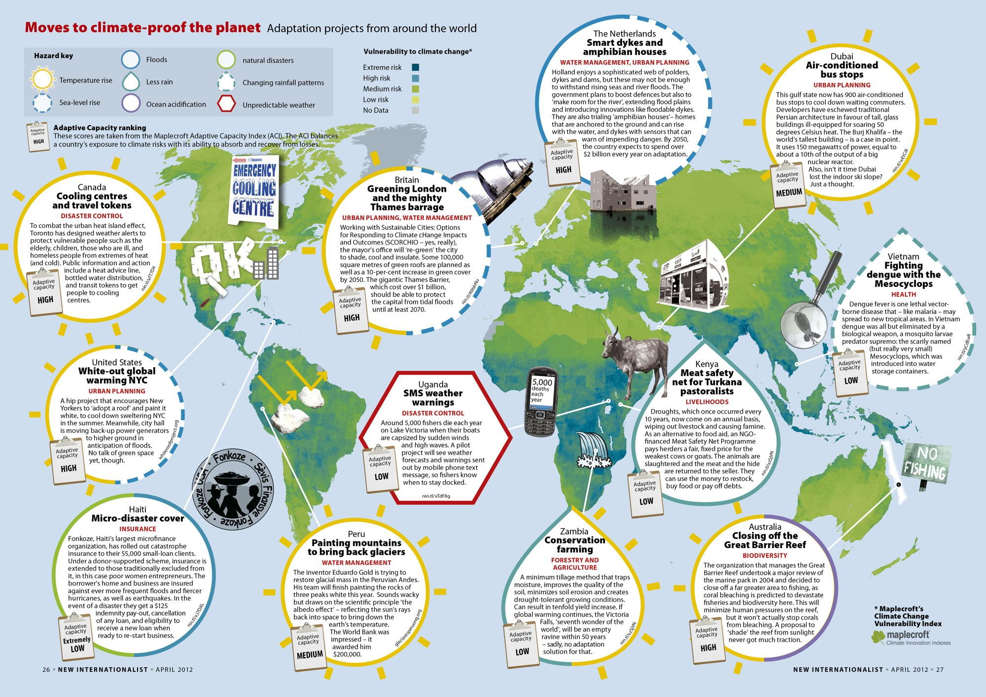 Climate Proofing Projects A Map Climate Change Teaching