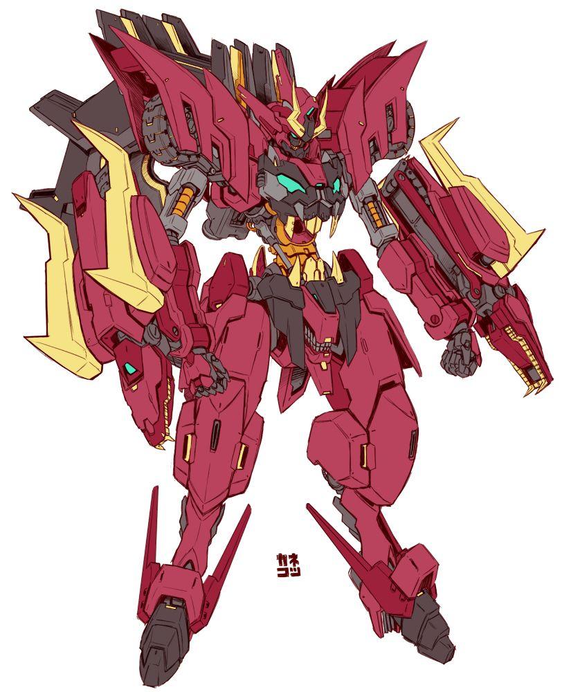 Anime Robot: 好きな悪魔ガンダムを俺ガンダムフレームにするラクガキまとめ [5]