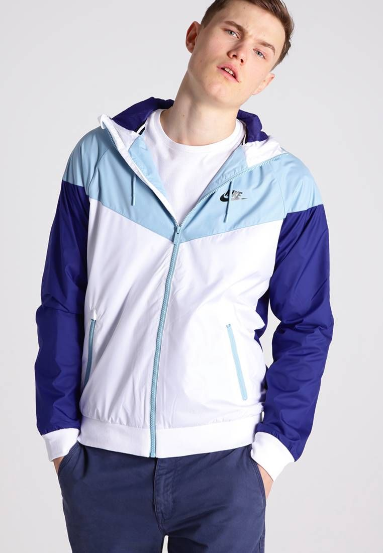 18595c84f2 Nike Sportswear. WINDRUNNER - Giacca leggera - white mica blue deep night