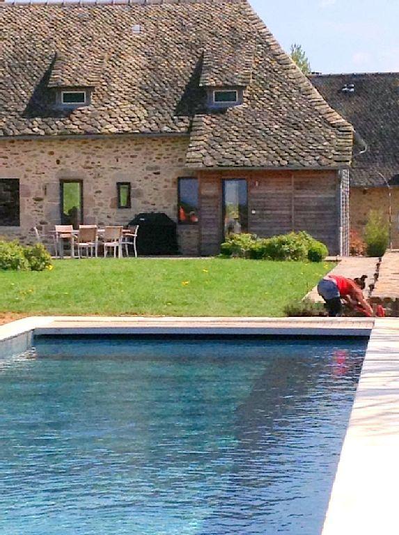 Location vacances gîte La Chapelle Saint Geraud La Nouvelle Piscine - location villa piscine couverte chauffee
