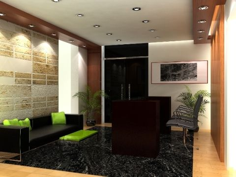 Small office reception interior design google search for Small office area