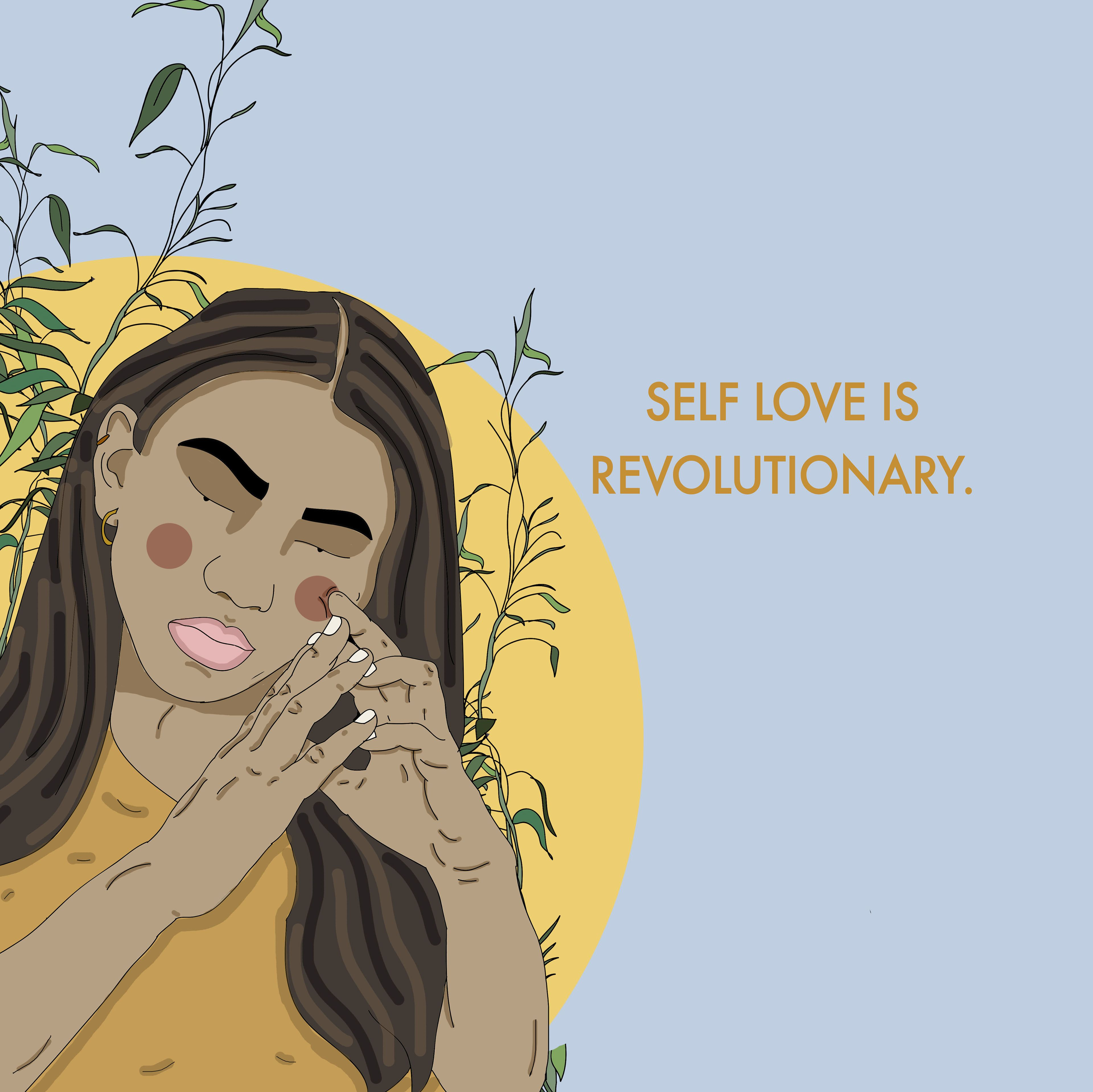 Intersectional Illustrations For Recipesforselflove Self Love Self Love Quotes Body Positivity