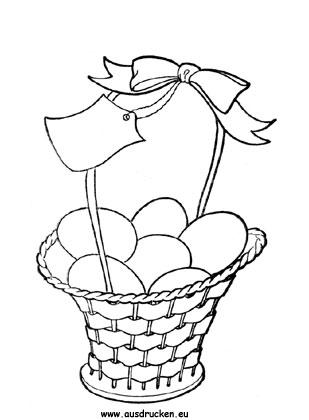 Ausmalbild Osterkorb Zum Ausmalen Ausmalbilder Malvorlagen Ostern Osterhase Kindergarten In 2020 Ausmalbilder Ostern Ausmalbilder Ostern Zum Ausmalen