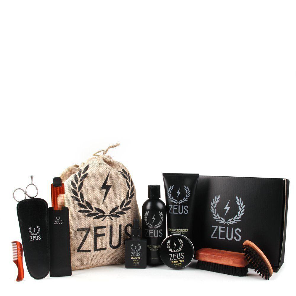 Zeus Ultimate Beard Care Kit Gift Set for Men The
