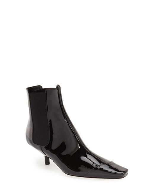 Loewe | Black Patent-Leather Chelsea Boots | Lyst