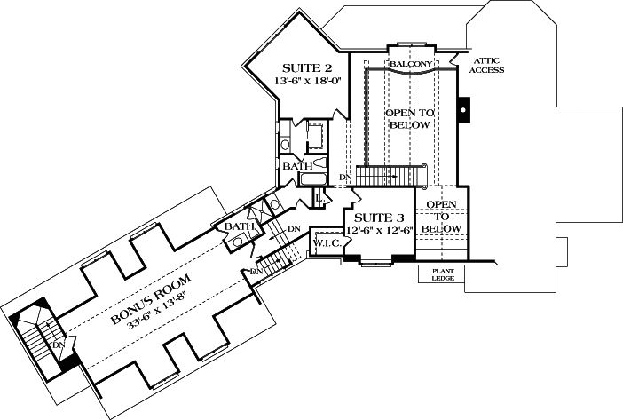 3660 Sq Ft French Country Manor Plan 180 1021 3 Bedrm
