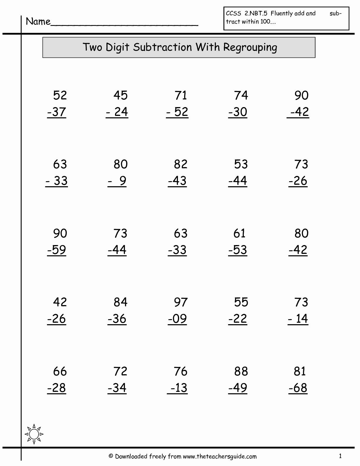 3rd Grade Addition Worksheets To Printable To Abacus digit addition worksheets