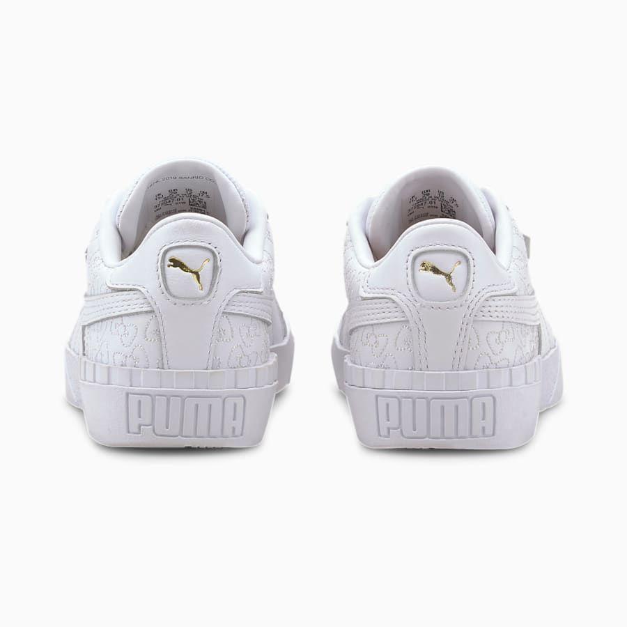 PUMA x HELLO KITTY Cali Kid Girls' Trainers   Puma White-Puma Black   PUMA Hello Kitty   PUMA United Kingdom #whitekittens