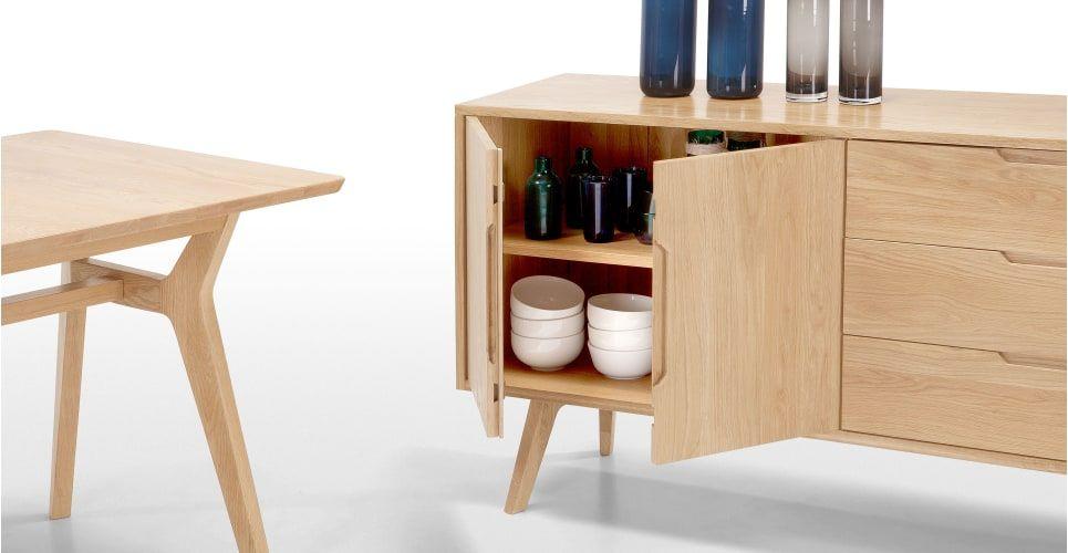 Made Solid Oak Sideboard Sideboard Furniture Solid Oak Furniture