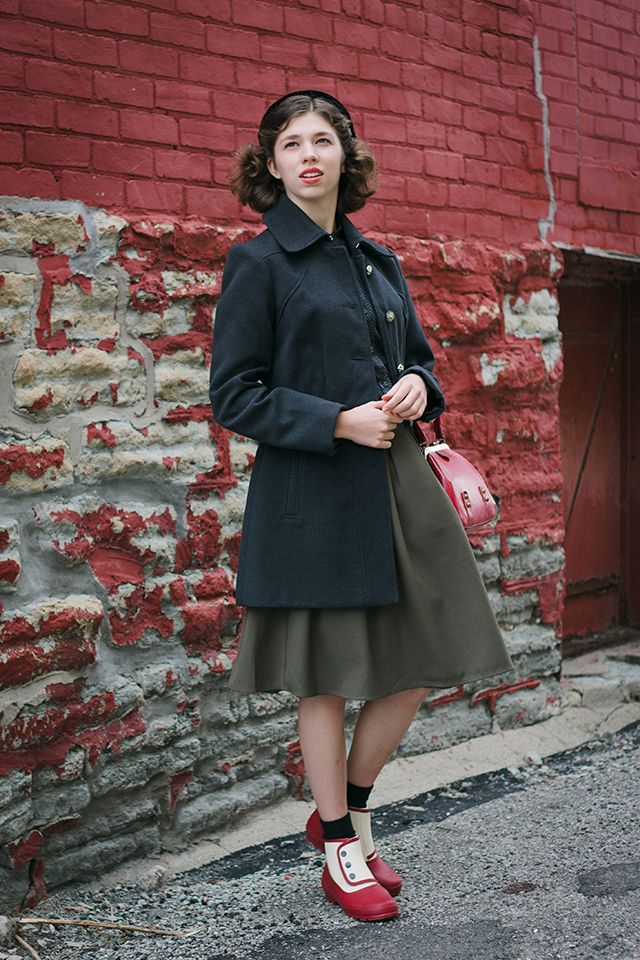 More Forties Inspired Flair: Well Dressed, Fashion, 1940s