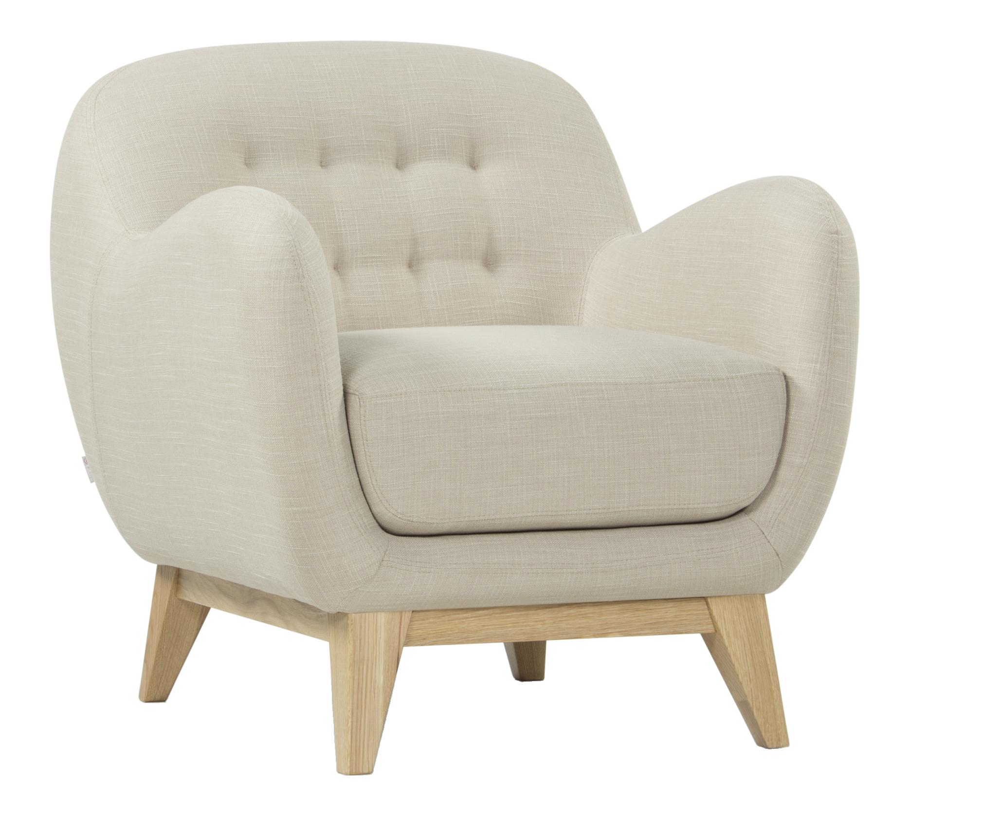 habitat fauteuil en tissu beige balthasar dimensions x x cm hauteur d 39 assise. Black Bedroom Furniture Sets. Home Design Ideas