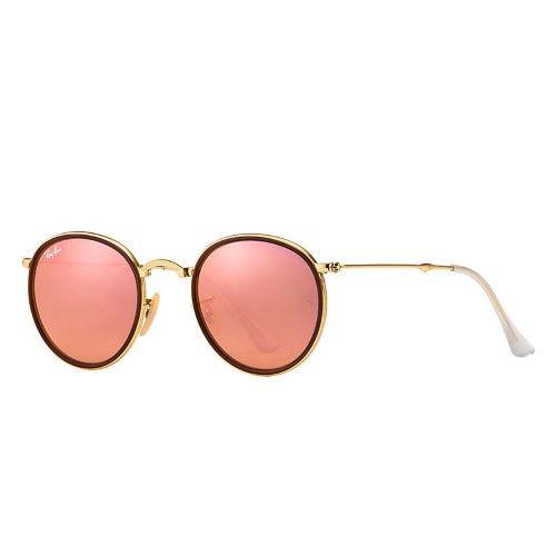 e21c5f5c0c53 Ray Ban Men's RB3517 RB/3517 001/Z2 Gold/Red Folding Sunglasses 48mm, Size:  51