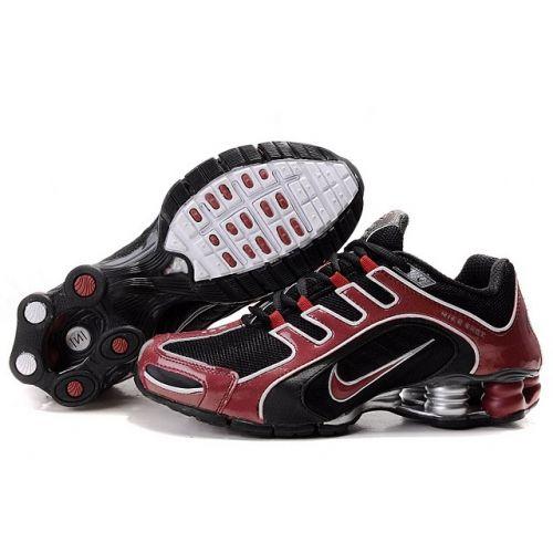 Nike Shox R5 608 Black Red White Men Shoes $79.59