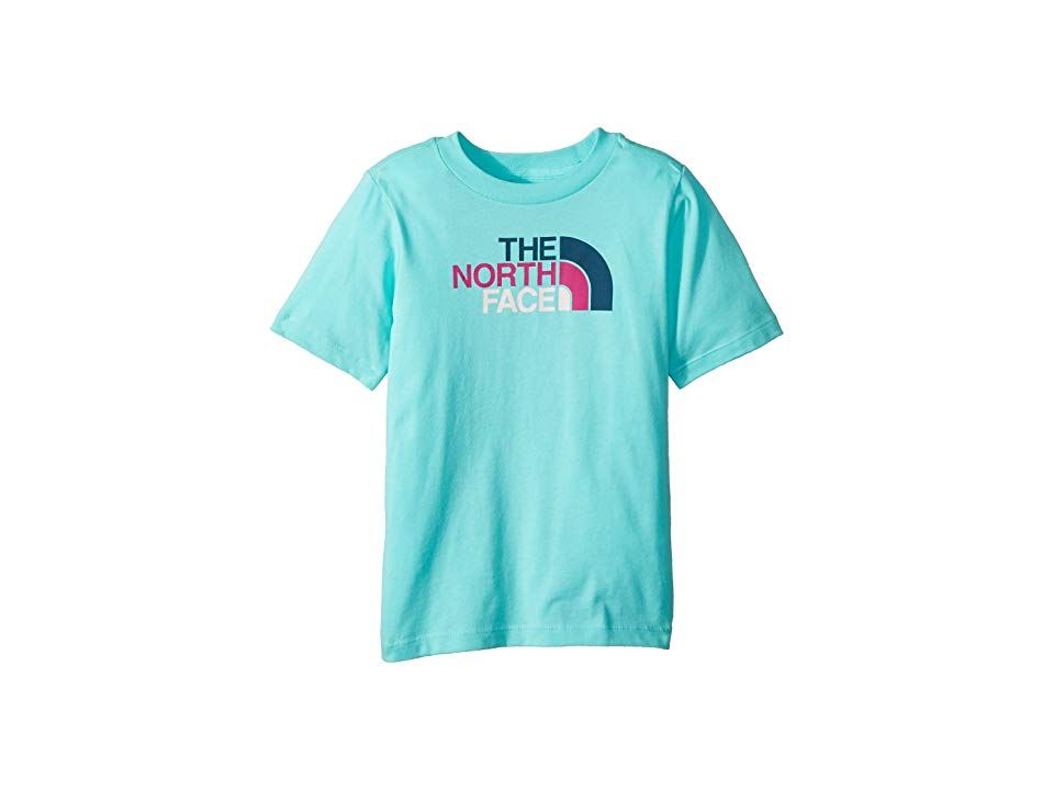 66005af0c The North Face Kids Short Sleeve Graphic Tee (Toddler) (Mint Blue ...