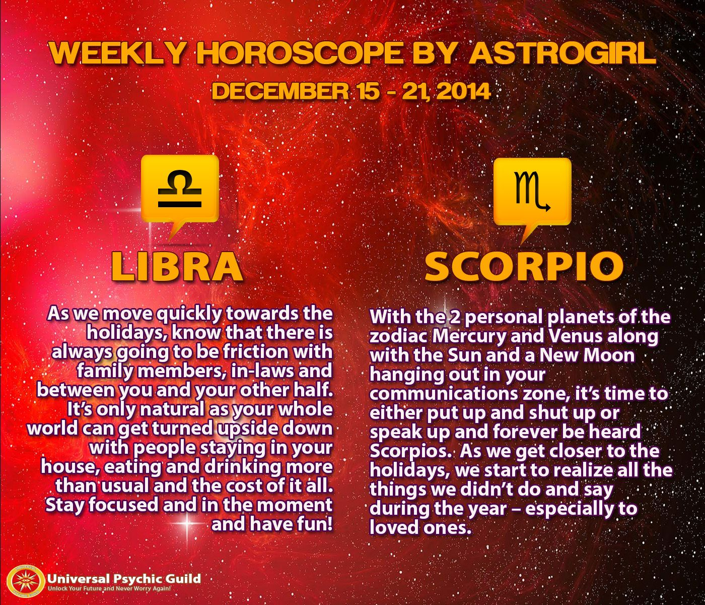 Astrology Updates: Weekly #Horoscopes for #ZodiacSigns #Libra and