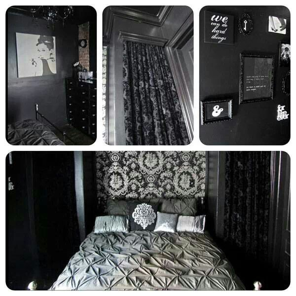 Black And White Bedroom Decor Black Bed Frame Bedroom Ideas Black Curtains Bedroom Tumblr Design Ideas For Small Bedroom Office: Medieval, Castles And Gothic