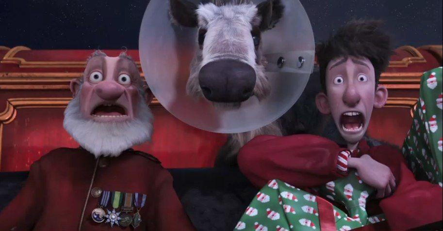 New Arthur Christmas Footage Stuffed Our Stockings With Off Kilter British Humor Arthur Christmas Christmas Movies British Humor