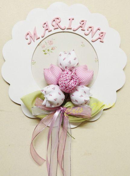 Enfeite porta maternidade Mariana. ShoutingMarianDoor ... & Enfeite porta maternidade tulipas | Best Mariana ideas Pezcame.Com