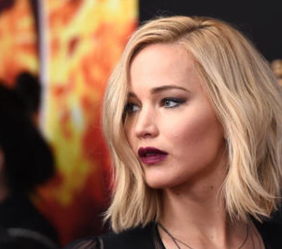 Jennifer Lawrence 29 On Instagram Bob Hairstyles Hair Styles Short Bridal Hair