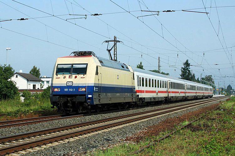 """Adtranz 33222 DB Fernverkehr """"101 1121"""" Eisenbahn"""