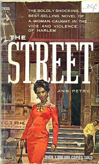 The Street, by Ann Petry (1964). Cover art: Dick Kohfield