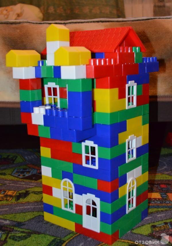поделка с фото из кубиков