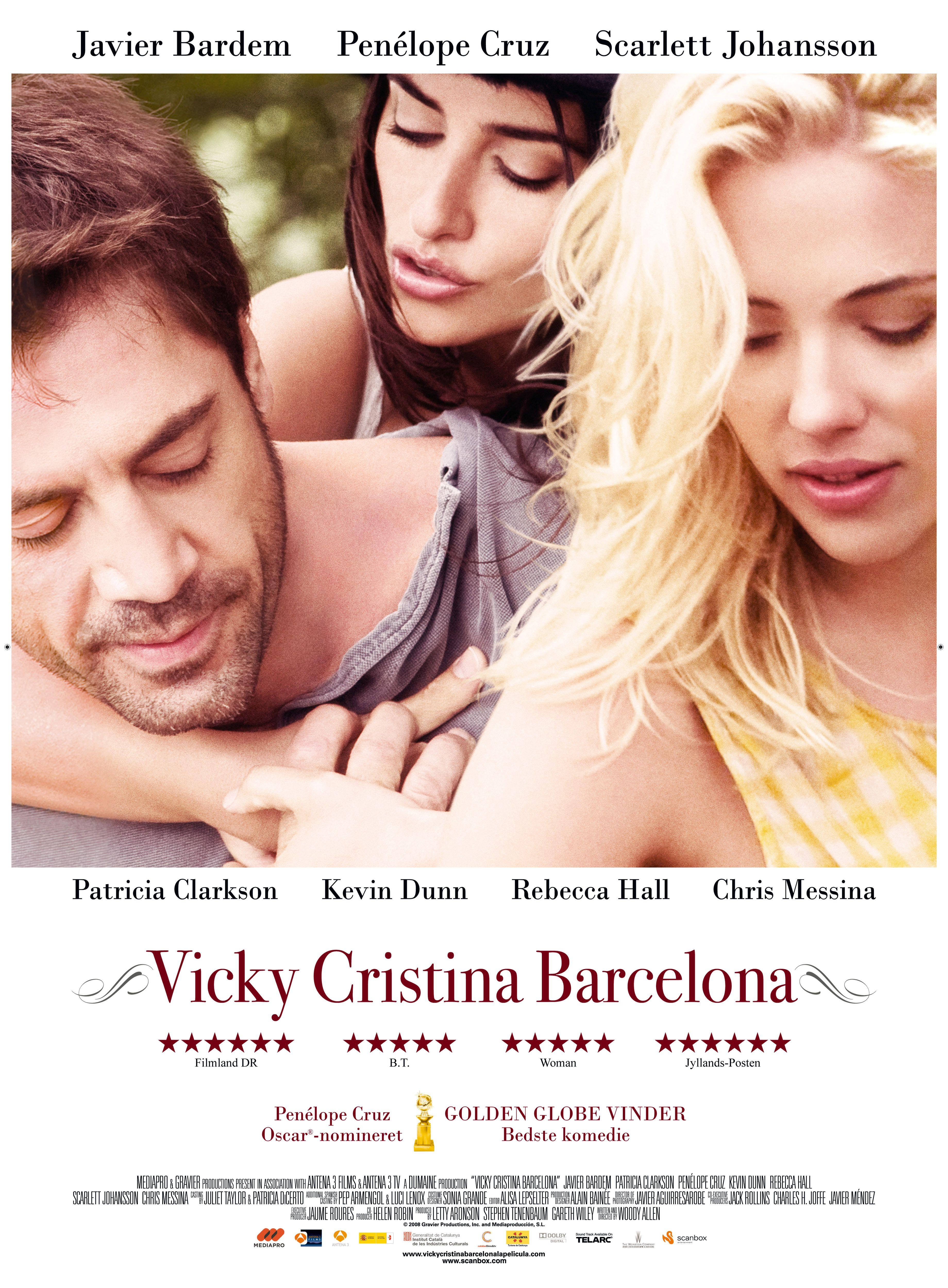 Vicky Cristina Barcelona Fantastische Film Vicky Cristina Barcelona Woody Allen Woody Allen Movies