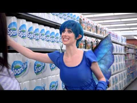 Sparkle Towels Commercial Featuring Kerri The Fairy How To Undermining Your Compeors Compeive Advantage